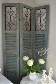 Shabby rose onlineshop gardinen gardinen shabby chic accessoires im shabby style vintage - Fensterladen vintage ...