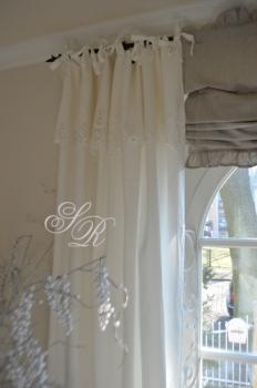 shabby rose onlineshop van deurs gardine leinengardine landhausschal schwedische gardinen. Black Bedroom Furniture Sets. Home Design Ideas