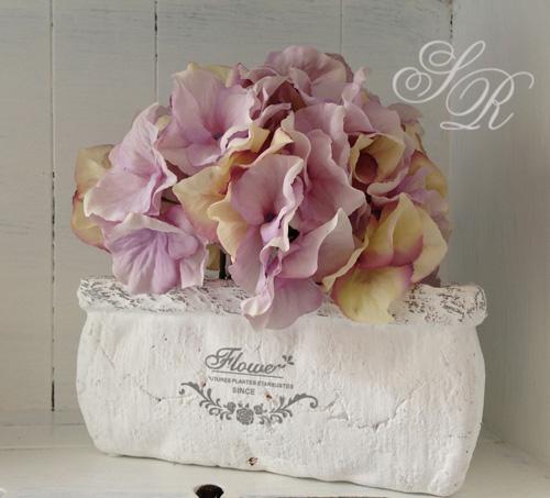 Shabby rose onlineshop amphore bertopf pflanzgef for Garderobenleiste landhausstil