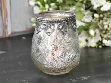 Shabby Rose Onlineshop - Chic Antique-Vase aus Bauernsilber-Shabby ...