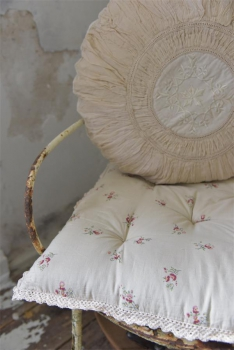 shabby rose onlineshop blumenbezug spitzenkissen kissen kissenh lle kissenbezug jeanne d arc. Black Bedroom Furniture Sets. Home Design Ideas