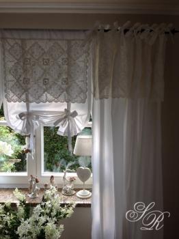 shabby rose onlineshop van deurs gardine van deurs agnete h kelgardine landhausgardine. Black Bedroom Furniture Sets. Home Design Ideas