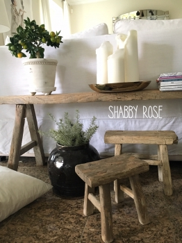 shabby rose onlineshop snowdropscopenhagen vintagehocker hocker holzhocker holzschemel wood. Black Bedroom Furniture Sets. Home Design Ideas