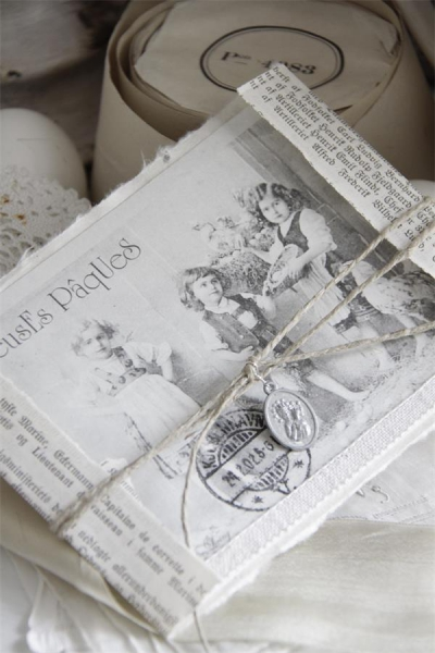 Jeanne d´Arc Living Schachtel Ostern Dekorative Box Nostalgie Geschenkbox Ø24cm