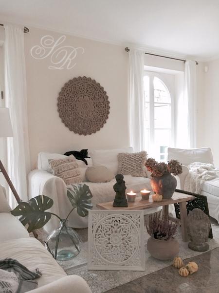 shabby rose onlineshop affari wandornament wanddekoration holzdekoration holzornament boho. Black Bedroom Furniture Sets. Home Design Ideas